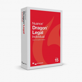 Dragon Legal Group 15.0 - Legal Enterprise Speech Recognition Software, 1-User, Dictate Documents and Control your PC