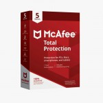 McAfee Total Protection 2020 Antivirus Internet Security Software, 5 Device