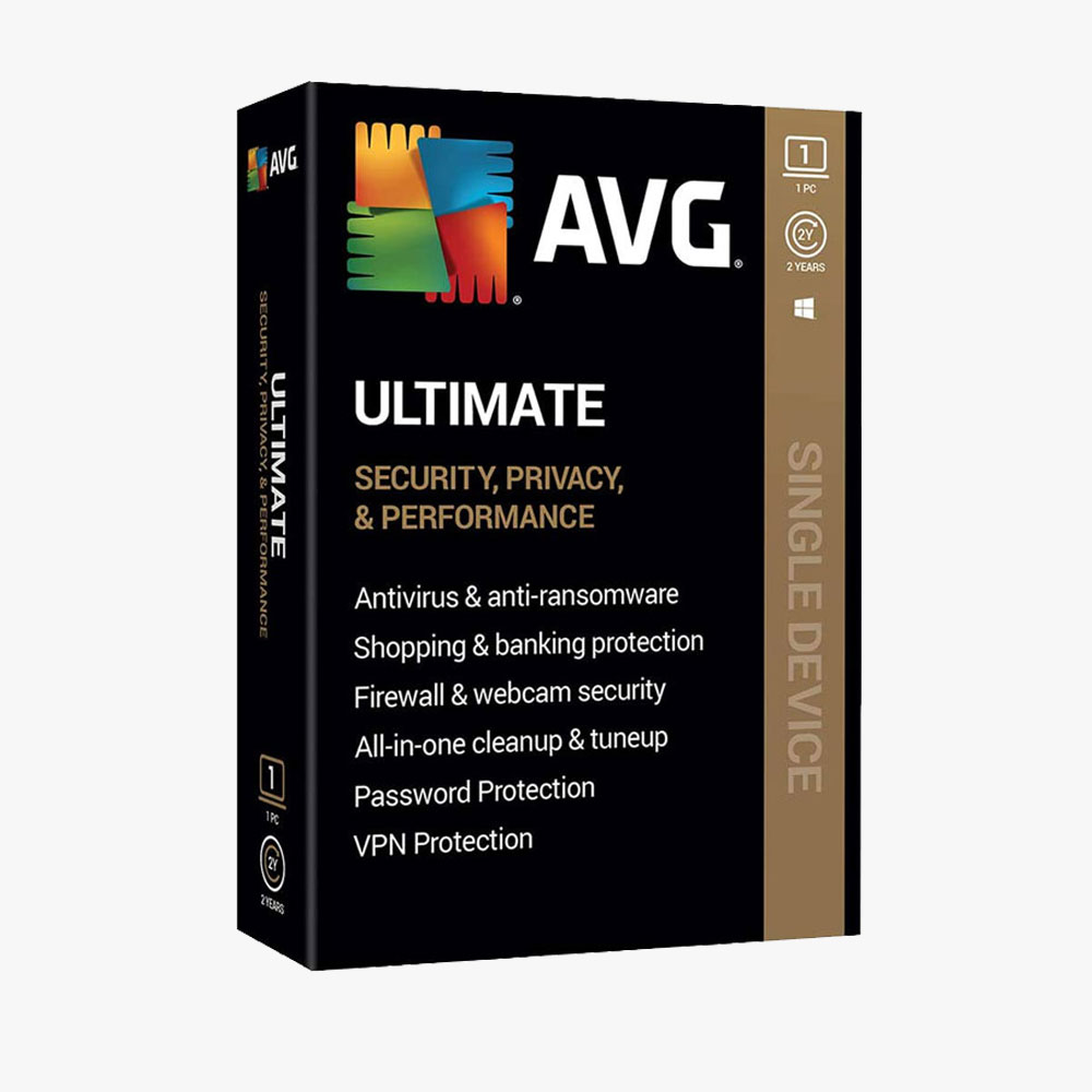 AVG Ultimate 2020, 2 Year 1 PC