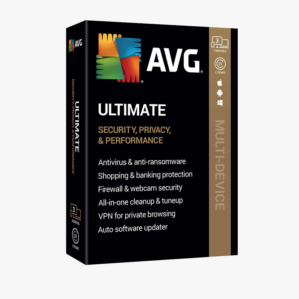 AVG Ultimate 2020, 3 Devices 2 Year
