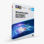 Bitdefender Internet Security - 3 Devices | 1 year Subscription | PC Activation Code by email