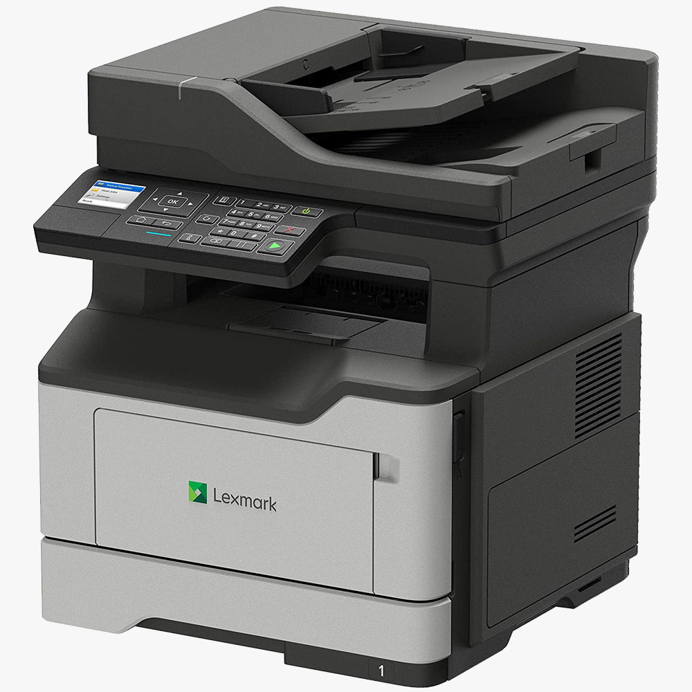Lexmark Print Only Monochrome Laser Printer Duplex Two Sided Printing Wireless Network & Airprint Ready