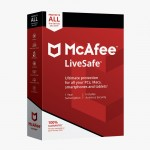 McAfee Live Safe 2020 Unlimited Devices Antivirus Internet and Identity Security Software