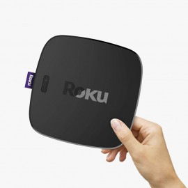 Roku Streaming Stick+ | 4K/HDR/HD Streaming Player with 4X The Wireless Range & Voice Remote with TV Power and Volume (2017