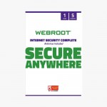 Webroot Internet Security Complete with Antivirus Protection Software | 5 Device | 1 Year Subscription |Mac