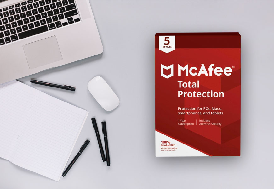 McAfee Total Protection with Latest Updates for Unlimited devices